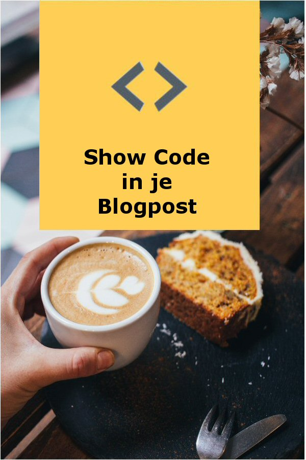 Mooi php,html of andere code presenteren in je post