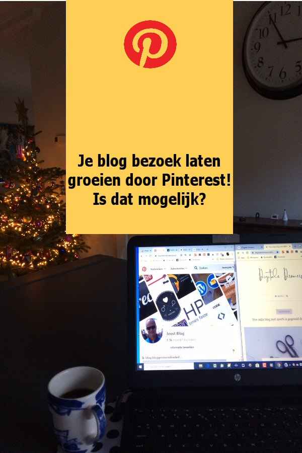 Blogtip blog groei door pinterest